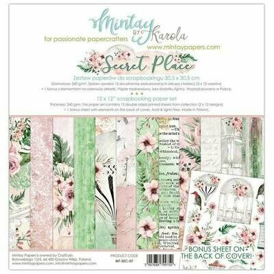 Mintay by Karola - Secret Place - 12 x 12 Collection Pack
