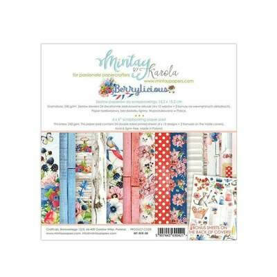 Mintay by Karola - Berrylicious - 6 x 6 Collection Pack