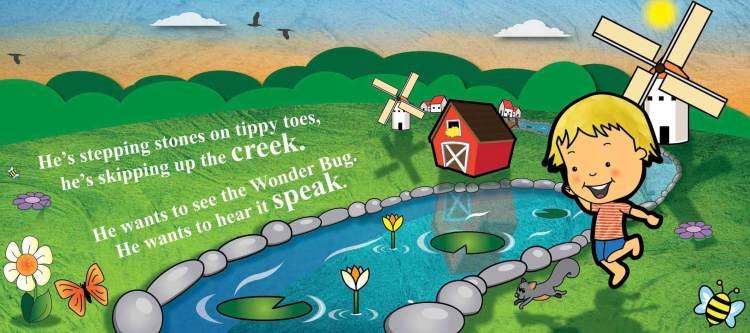 Dusty's Wonder Bug Children's Book & Musical CD