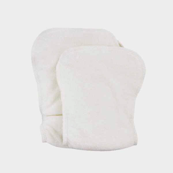 Diaper inserts organic cotton - one size pack