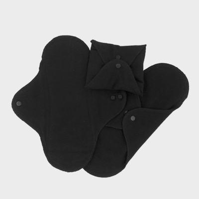 Sanitary Pads - Regular - Black