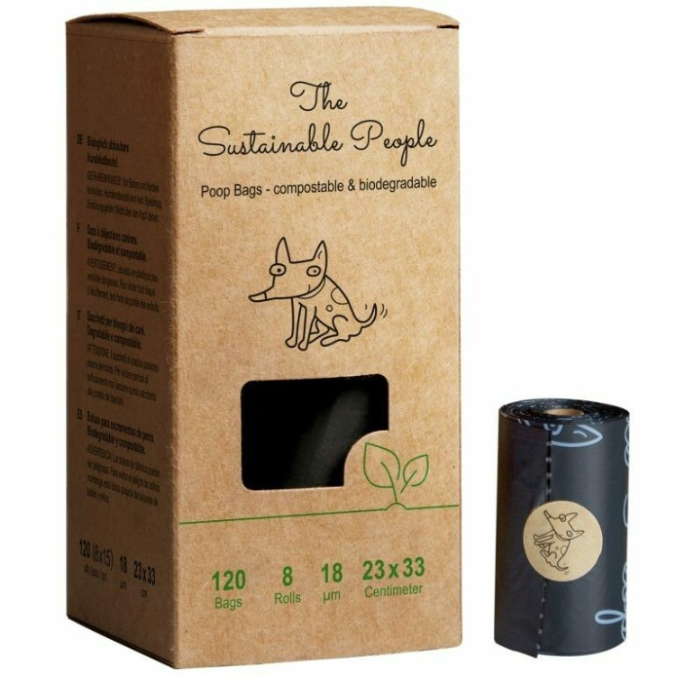 Dog Waste Bags - Home Compostable