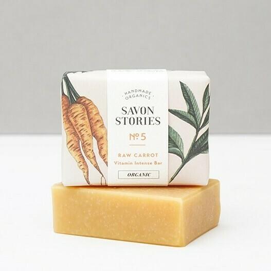 Soap Bar n°5 - Raw Carrot - Vitamin Intense - Face & Body