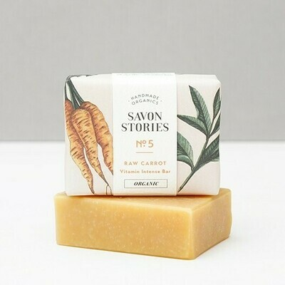 Soap Bar - Raw Carrot - Vitamin Intense