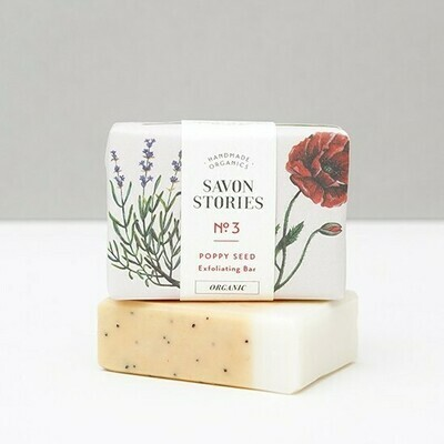 Soap Bar n°3 - Exfoliating Poppy Seed - Body