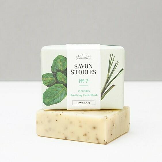 Soap Bar n°7 - Purifying Herb Wash - Body