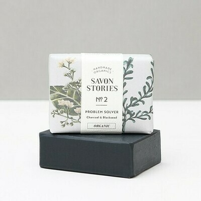 Soap Bar - Problem Solver Charcoal & Blackseed
