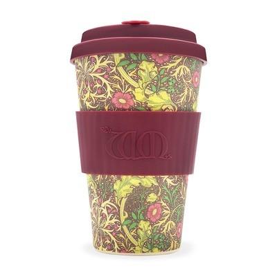 Ecoffee Cup - William Morris: Seaweed 400ml