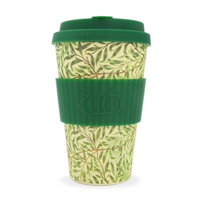 Ecoffee Cup - William Morris: Willow 400ml