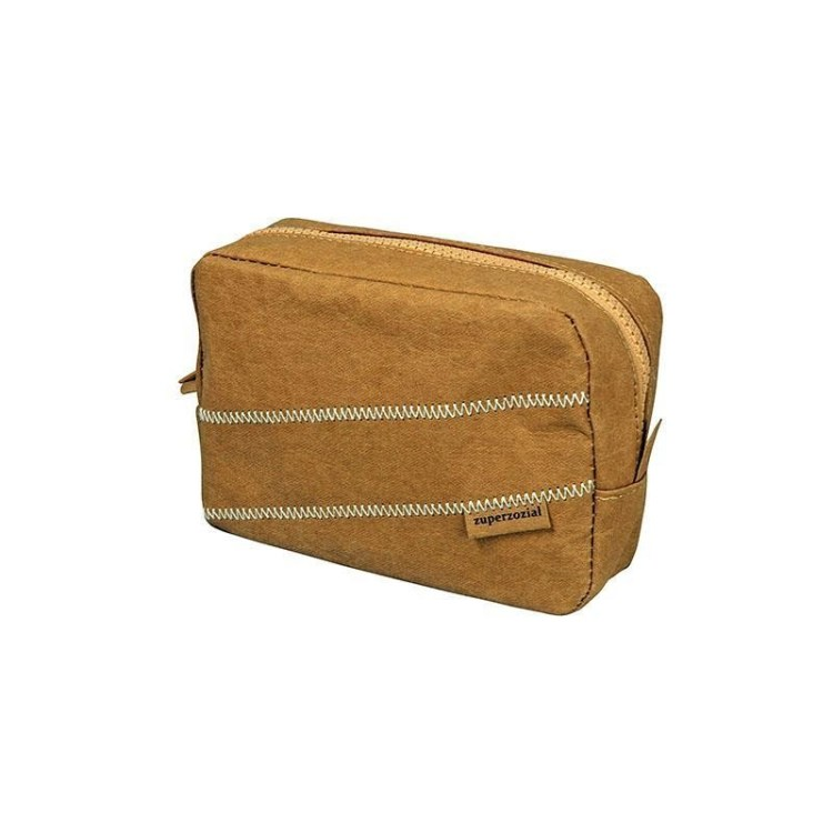 Toilet Bag Short Stay Brown
