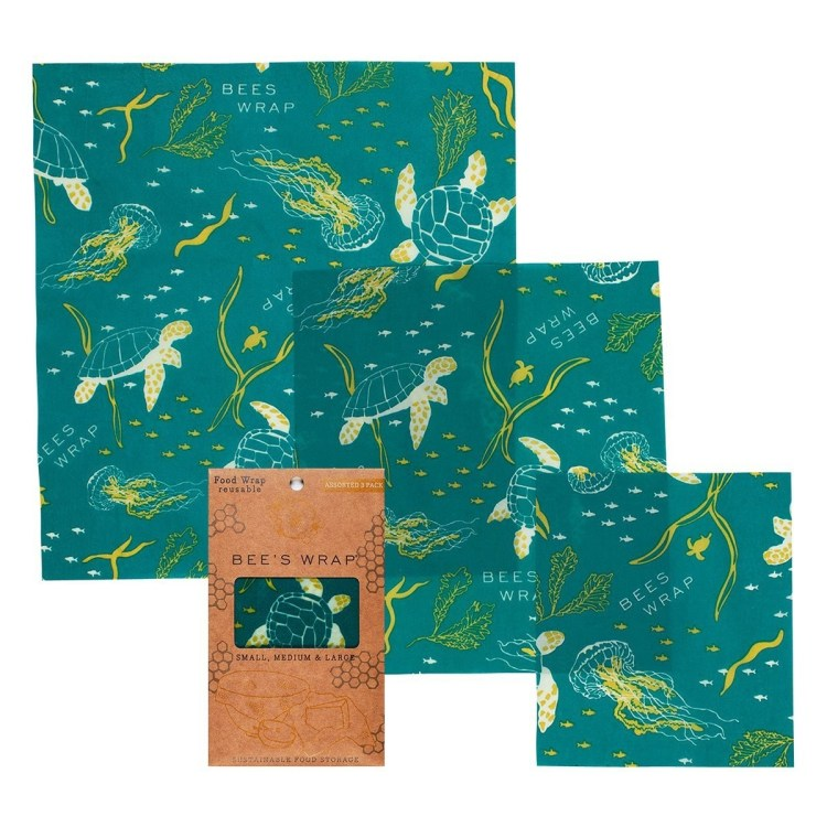 Bee's Wrap - 3 pack assorted - Oceans