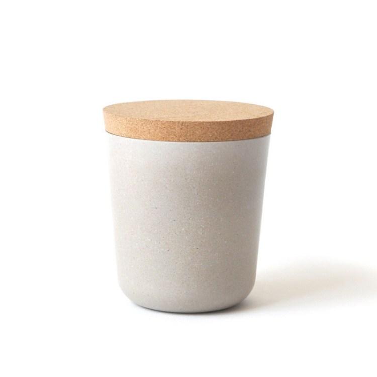 Claro XL Storage Jar - Stone
