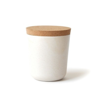 Claro XL Storage Jar - White