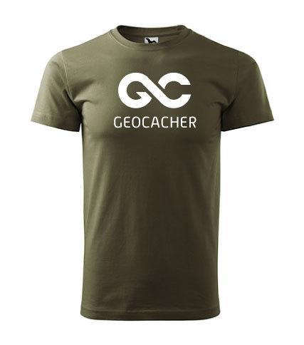 """Tričko """"Geocacher"""""""
