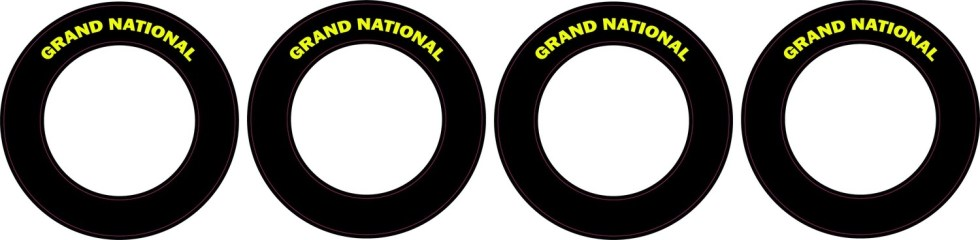 Grand National  | CRC Rubber Tire Side Wall Decal