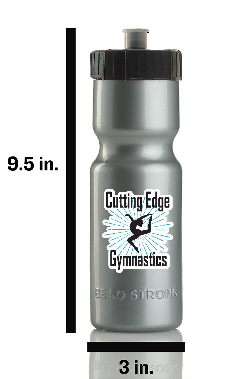 Cutting Edge Gymnastics Sports Water Bottle