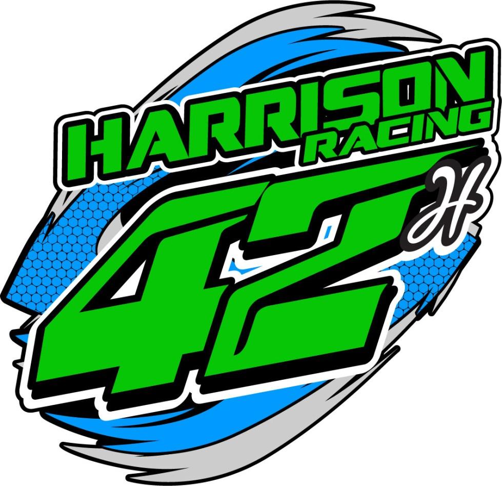 2020 Harrison Racing Sticker