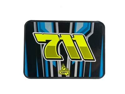 Dirt Oval Kart Number Plate Wrap (Custom Designed to Order)