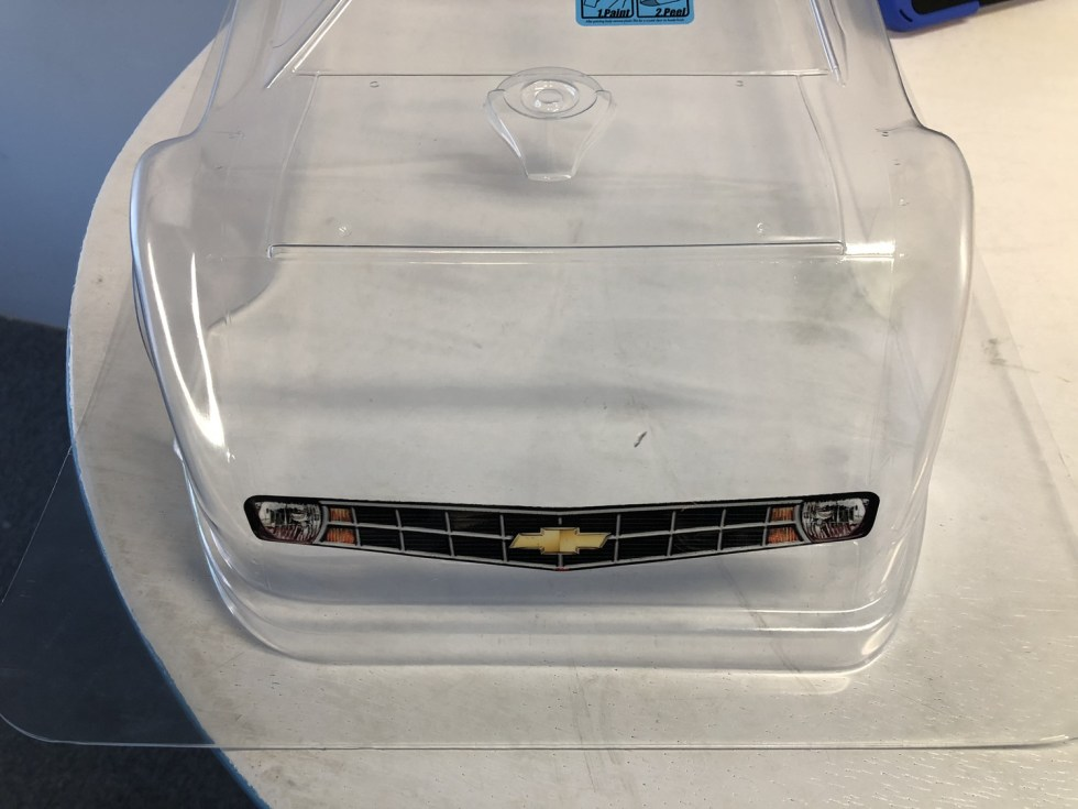 Chevy Late Model Alternative Headlights & Grill