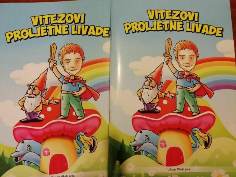 Bilježnice Vitezovi Proljetne livade (5 kom u paketu)