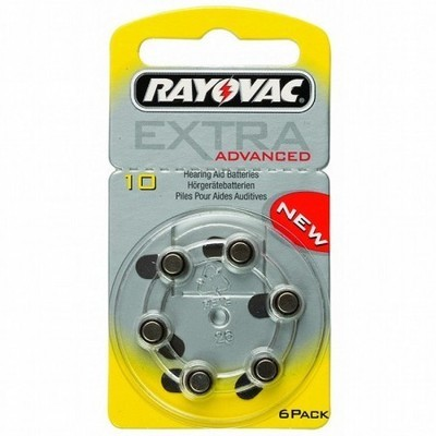 Rayovac Size10 Batteries (Box of 60 Cells)