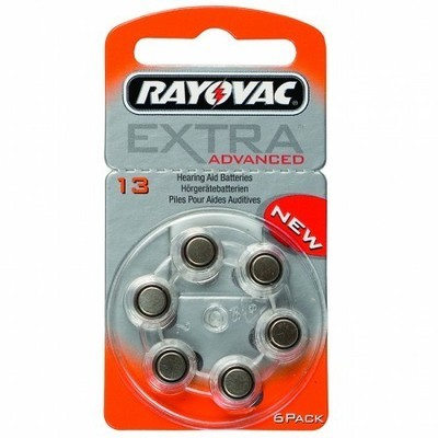 Rayovac Size 13 Batteries (Box of 60 Cells)
