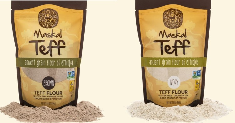 Teff Flour 1LB pack sold 6 packs - 6LB ሰርገኛ ወይም ቀይ ጤፍ