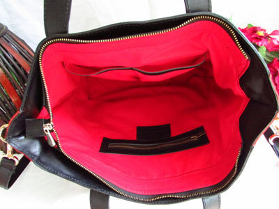 Red Suede Leather Handbag -Red Women Tote
