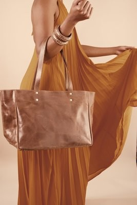 Sheba Leather Tote