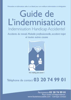 Guide de l'Indemnisation - version papier (500 exemplaires exemplaires)