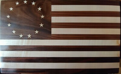 Betsy Ross Flag Cutting or Charcuterie / Cheese Board