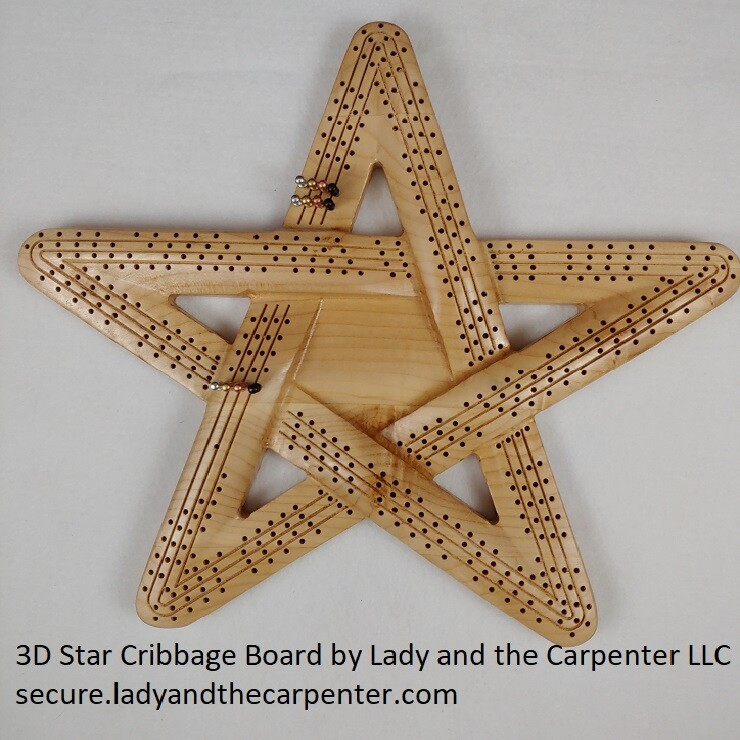 3D Star Cribbage