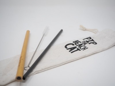 Re-Useable Straw Kit