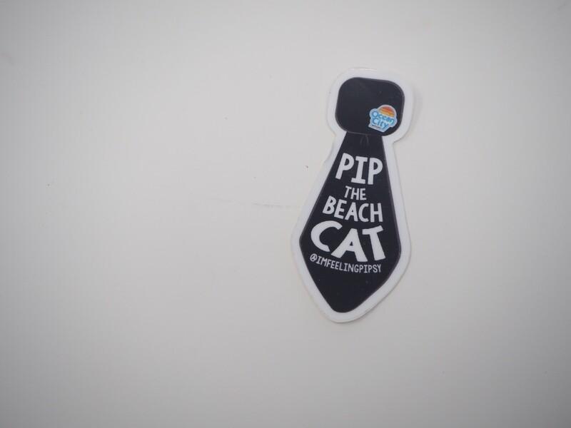 Pip's Classic Tie Small Sticker 3