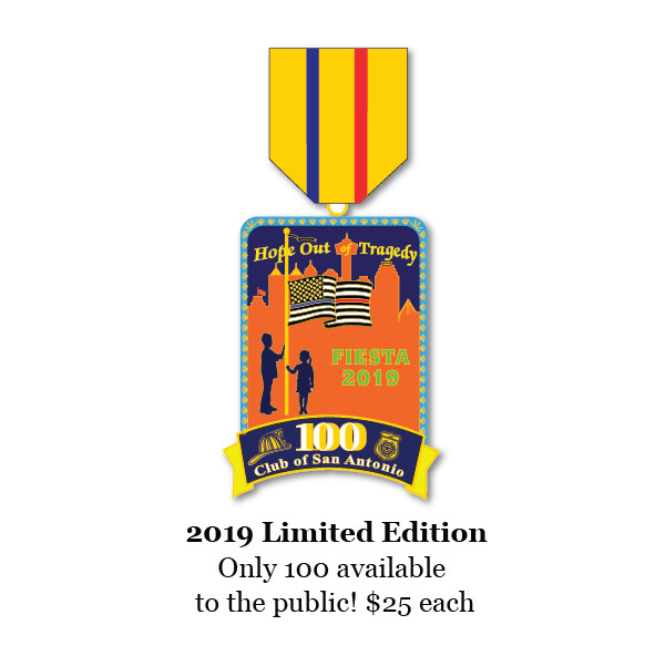 2019 Limited Edition 100ClubSA Fiesta Medal