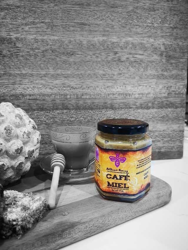 Cooking Aid range, Cafe Miel, 240ml glass bottle