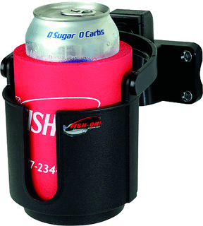 Fish-On!® Cup Holder Rod Mount - Black