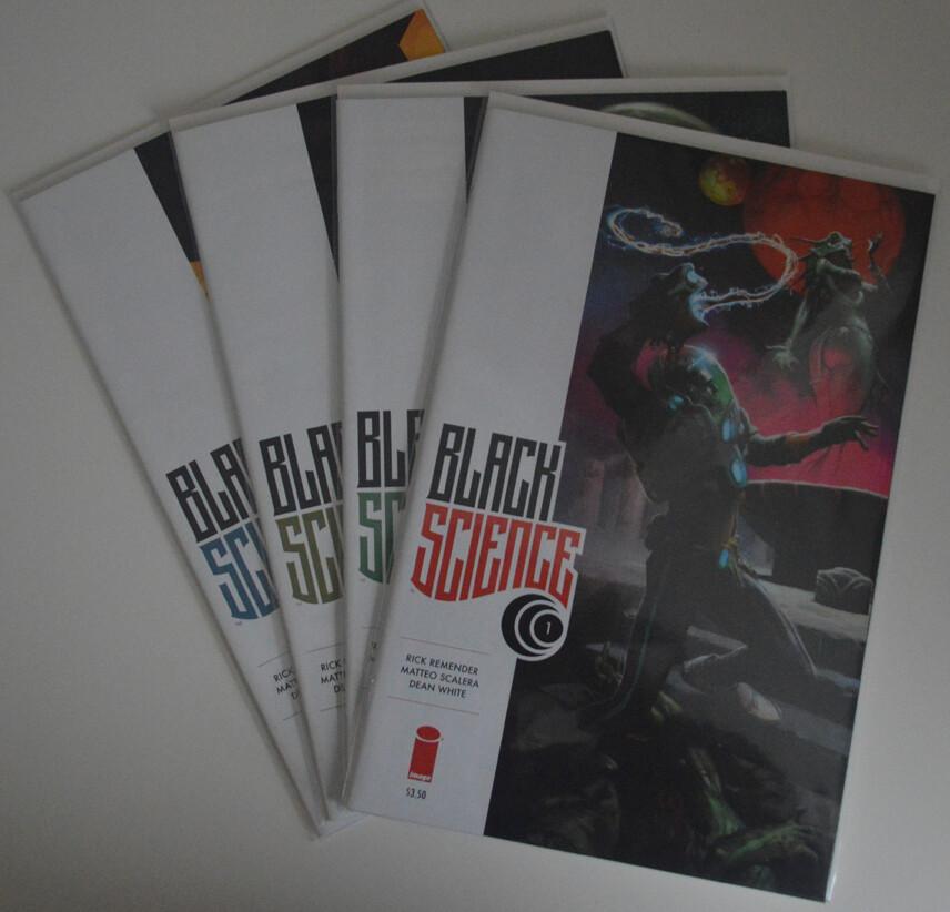 Black Science #1-4