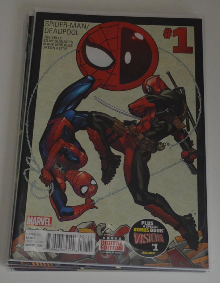 Spider-Man/Deadpool #1-4