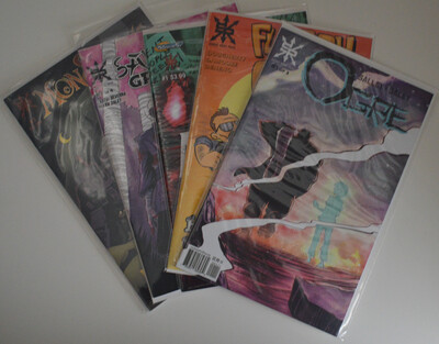 Source Point Press #1 Issue Lot