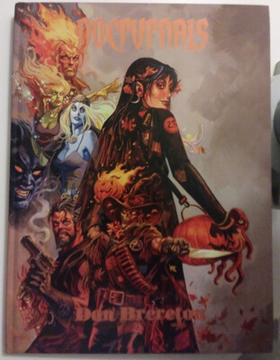 NOCTURNALS: LEGEND (Big Wow Art 2014 HC ~ Daniel Brereton)