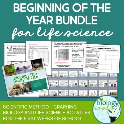 Beginning of the Year Bundle for Life Science