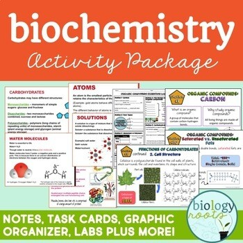Biochemistry Activity Package