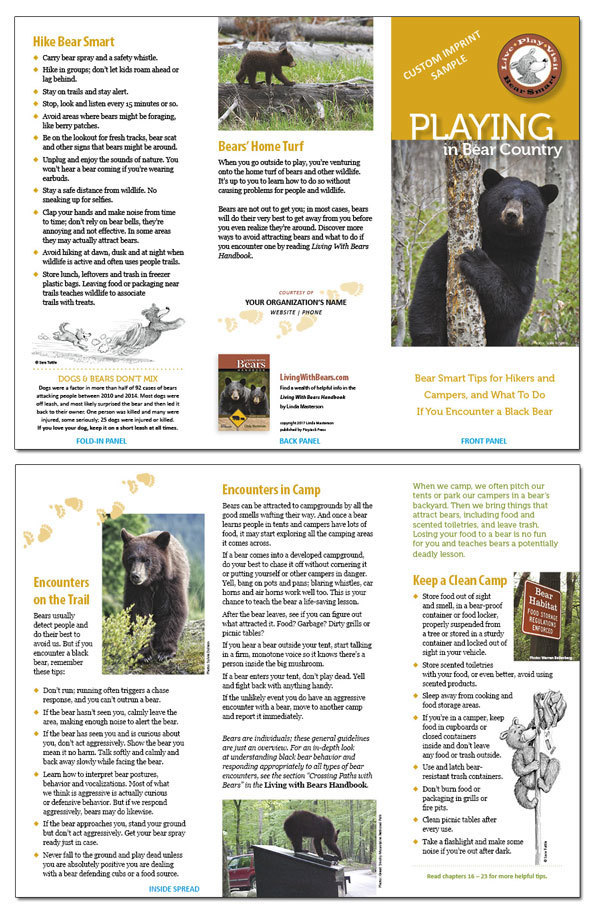 Visiting Bear Country (spread)