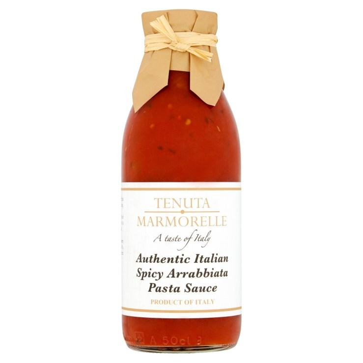 Tenuta Marmorelle Spicy Arrabbiata Pasta Sauce