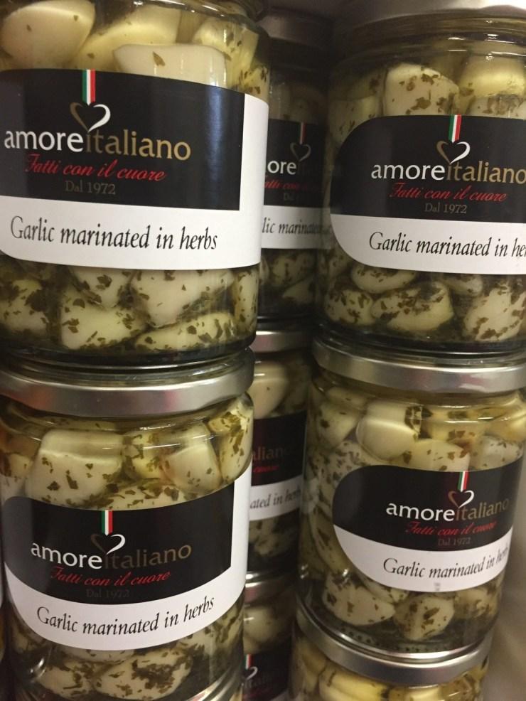 Garlic marinated in Herbs 314ml