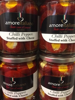 Chilli Peppers filled with Cheese 314ml