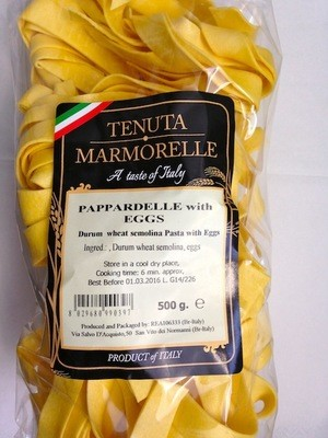 Egg Pappardelle 500g