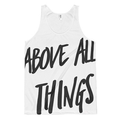 All-over Choose Love tank top