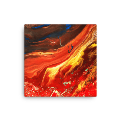 Cano Crystalis Canvas Art Print